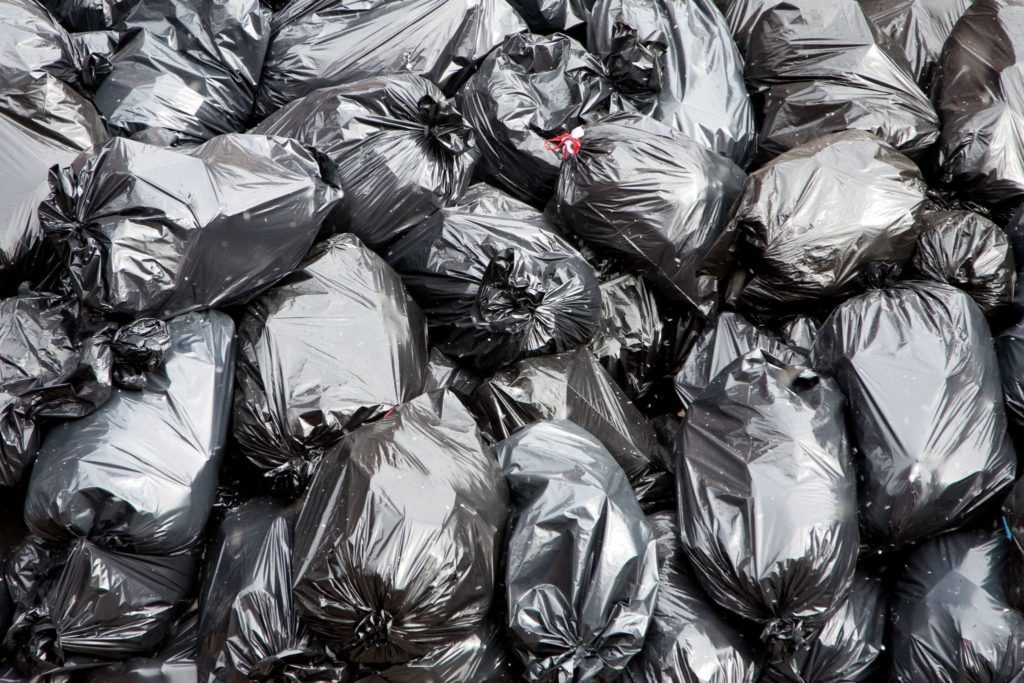 Trash bags often have bad odors.