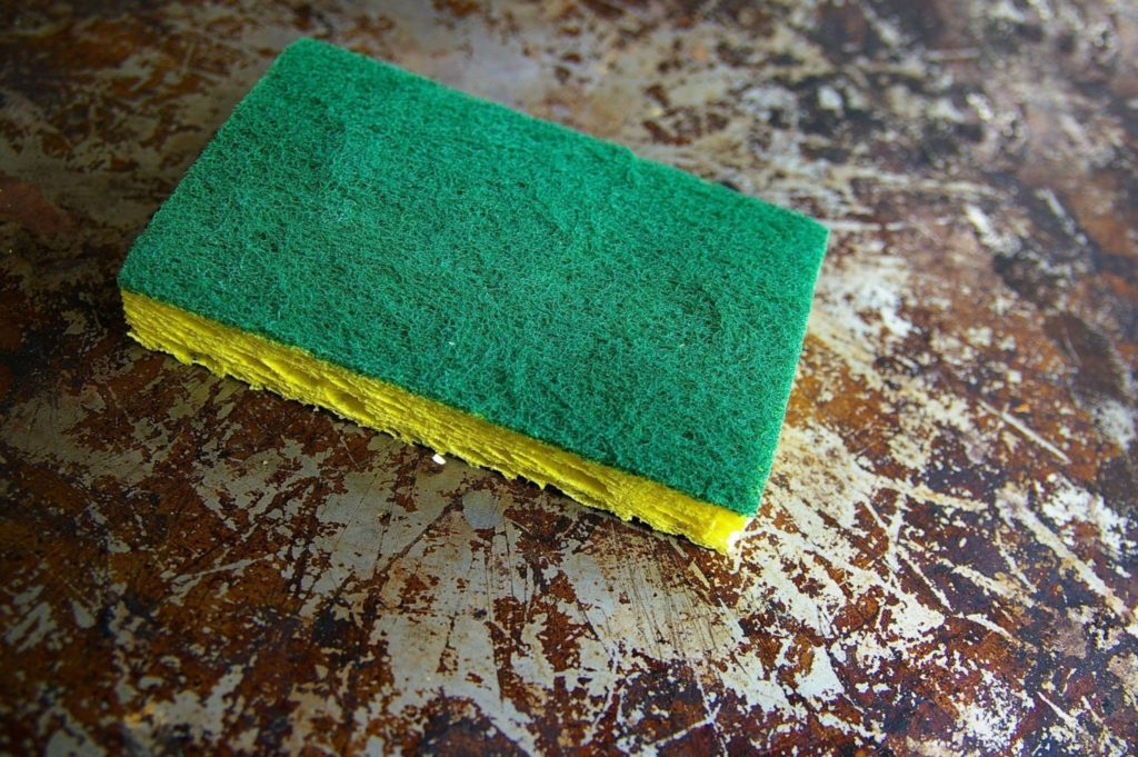 dirty sponges can hold bad odors